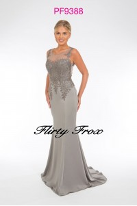 Prom Frocks PF9388 Grey