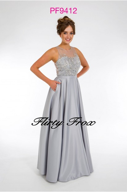 Prom Frocks PF9412 Grey