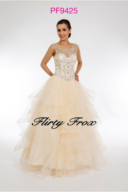Prom Frocks PF9425 Champaagne