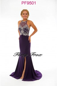 Prom Frocks PF9501 Purple