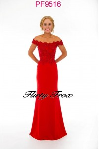 Prom Frocks PF9516 Red