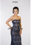Prom Frocks PF9251 Navy/Nude