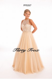 Prom Frocks PF9267 Cream